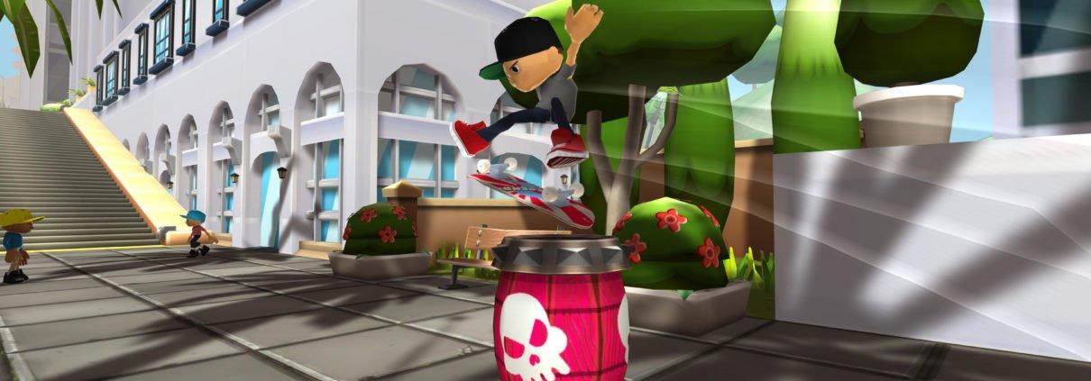 Epic Skater 2 Barrel Kickflip